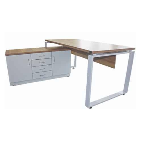 שולחן + שלוחה | שולחן מנהלים | שולחן מנהל