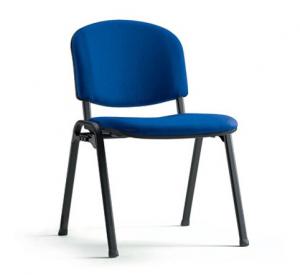 כסא אורח ויזי כחול | ריהוט מוסדי | ריהוט למוסדות חינוך