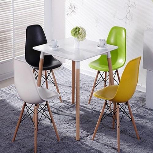 כסא אורח ללא ידיות פלסטיק דגם אמי 2