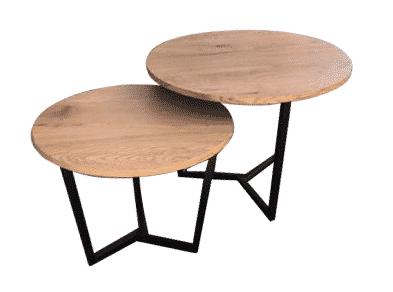 שולחן קפה עגול דגם מילנו   א. חי גרף יבוא ייצור ושיווק ריהוט משרדי