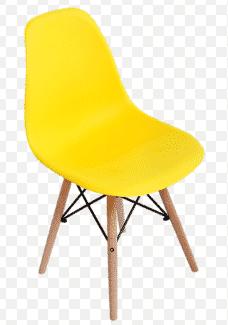 כסא צהוב | כסא אורח פלסטיק מעוצב דגם אמי | א. חי גרף ייבוא ייצור ושיווק | כסא אורח ללא ידיות פלסטיק דגם אמי