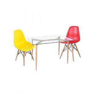 שולחן ישיבות זכוכית דגם אטלנטה
