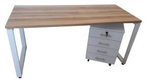 שולחן משרדי דגם ענבר במבצע   שולחן חלון   א. חי גרף