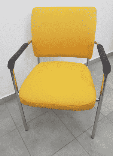כסא המתנה / כיסא אורח דגם כלנית | א. חי גרף