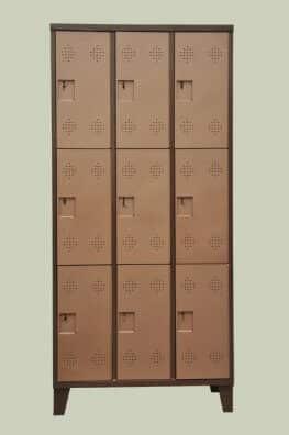 ארון לוקר מתכת 9 תאים