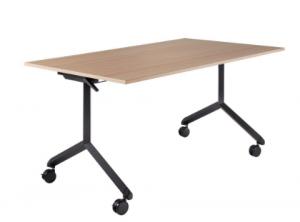 שולחן מתקפל+גלגלים